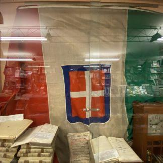 Bandiera adottata da Carlo Alberto di Savoia nel 1848