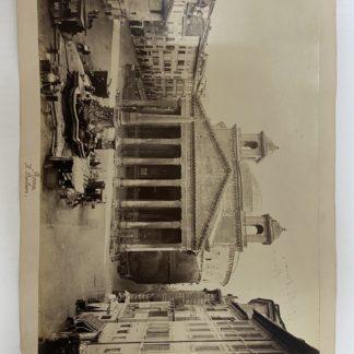 Fotografia Roma Il Panteon Il Pantheon 1870