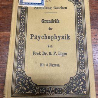 Grundrifs der psychophysik