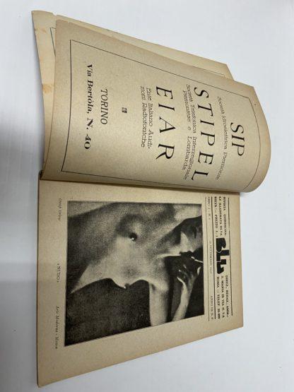 Blu rivista quindicinale illustrata di varietà anno I numero 8 settembre 1931
