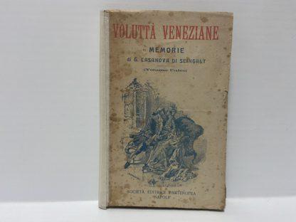 Volutta Veneziane Memorie di G. CASANOVA