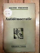 Antidemocratie suite politique italienne