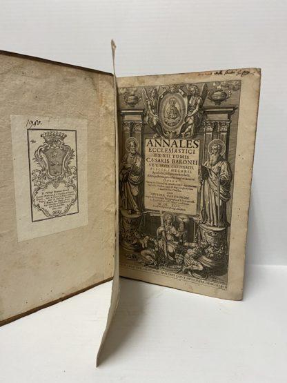 Annales Ecclesiastici, ex XII tomis Caesssaris Baronii.