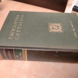 Enciclopedia Cattolica Vol. 3 III