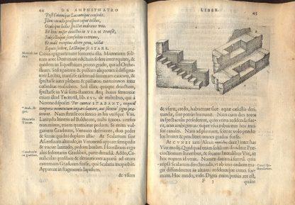 De Amphitheatro liber. In quo forma ipsa Loci expressa , & ratio spectandi. Cum aeneis figuris.
