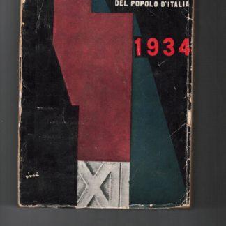 Almanacco fascista del popolo d'Italia 1934.