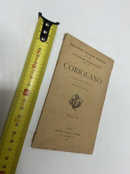 Coriolano Biblioteca Teatrale Economica