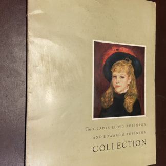 Catalogo d'arte The Gladys Lloyd Robinson and Edward G. Robinson Collection